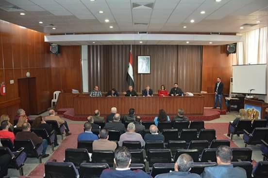 افتتاح أعمال مجلس مدينة اللاذقية