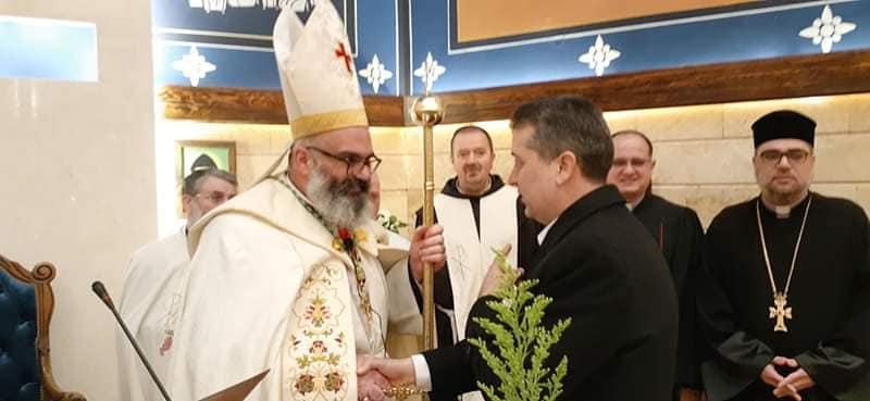 مشاركة بالقداس الذي أقيم بمناسبة عيد القديس مارمارون