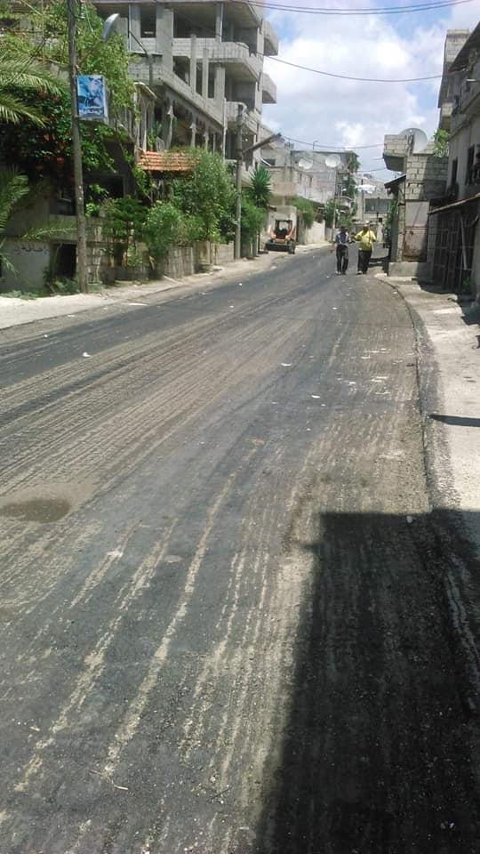 إعادة تأهيل شوارع متفرقة في منطقة سنجوان