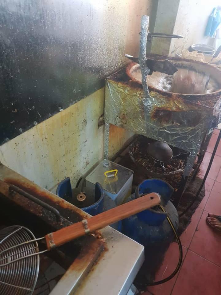 إغلاق مطعم لبيع السندويش في منطقة الرمل الجنوبي
