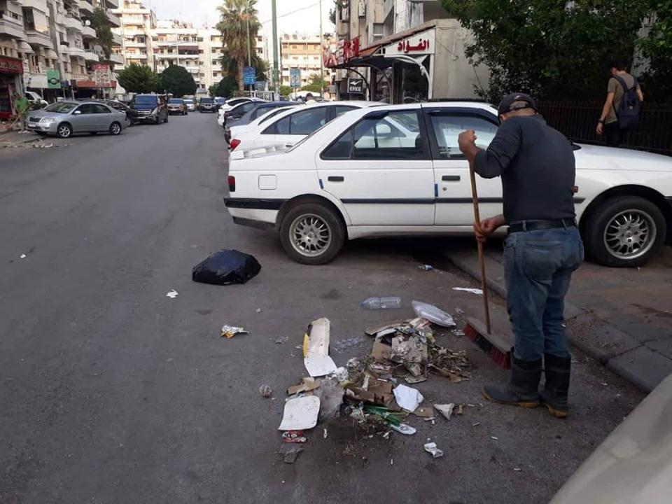 استمرار حملات النظافة في المدينة