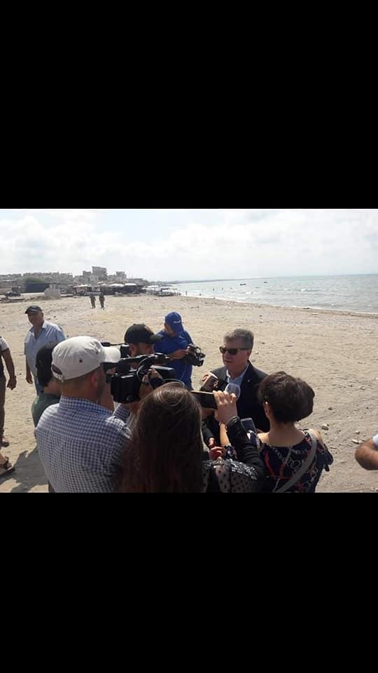 إجراءات متسارعة لتجهيز مسبح الشعب في الرمل الجنوبي