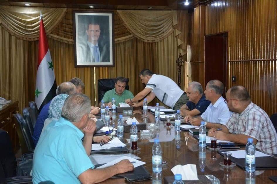 اجتماع مع لجنة حماية المدينة القديمة