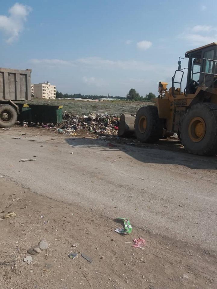 حملة نظافة في شوارع و أحياء المدينة