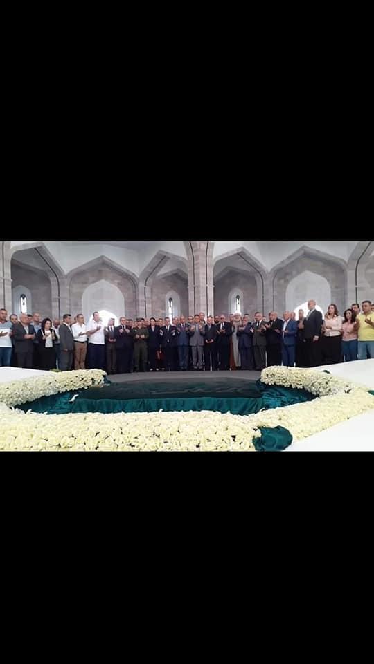 زيارة ضريح القائد الخالد حافظ الأسد
