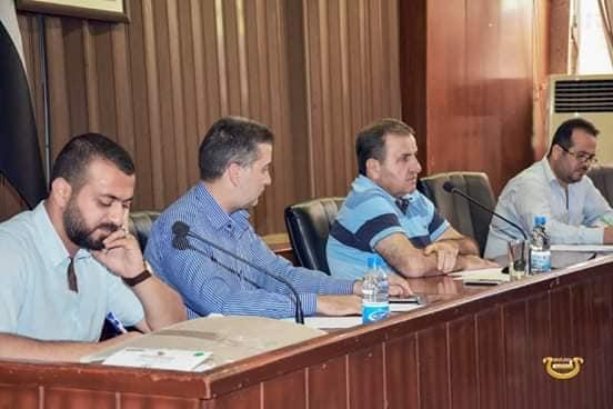 محافظ مدينة اللاذقية يفتتح أعمال جلسة مجلس المدينة