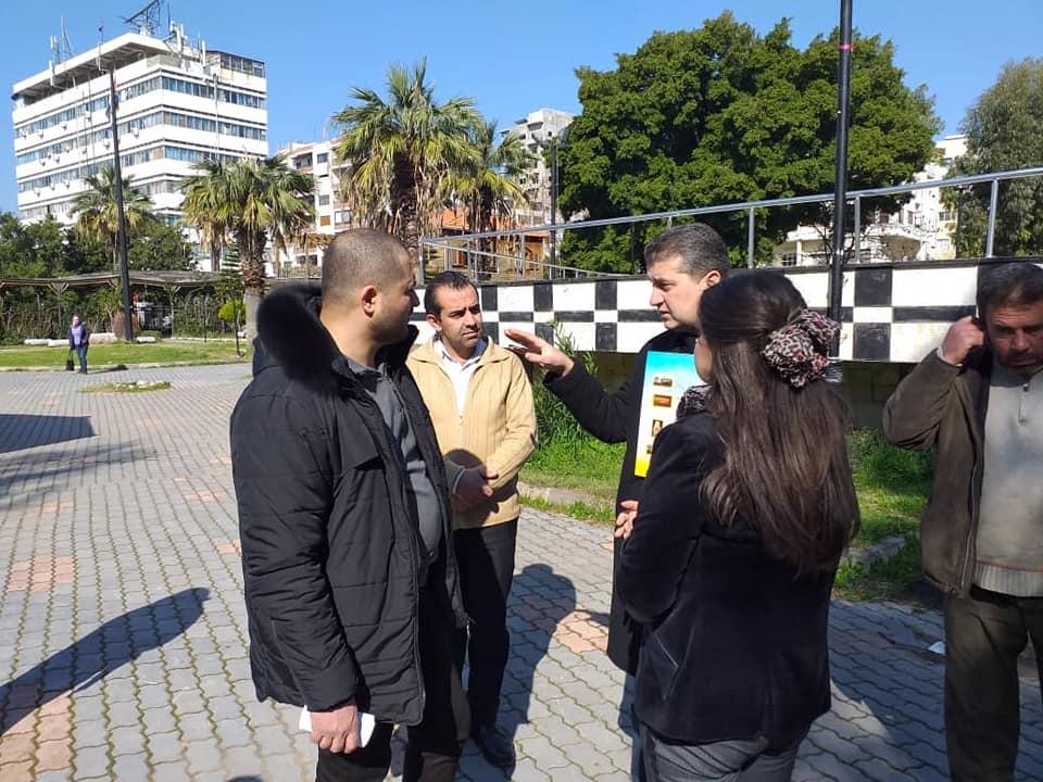 جولة لرئيس مجلس المدينة في مركز للعروبة للانشطة الثقافية