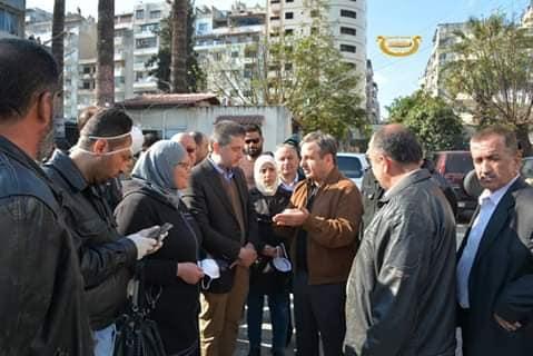 محافظة اللاذقية تضع خطة استجابة لتعقيم جميع أحياء وشوارع المدينة