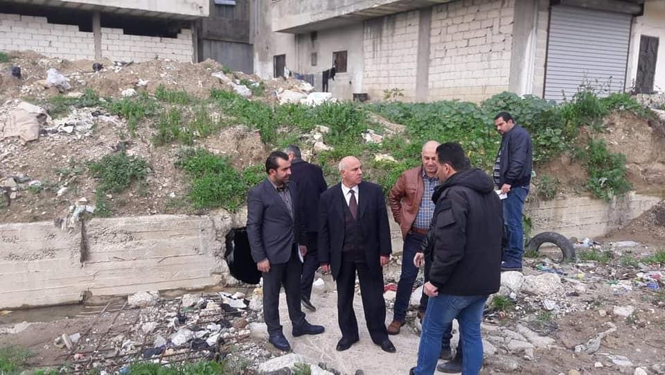 جولة لرئيس مجلس المدينة إلى ضاحية الباسل