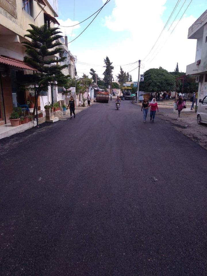 إنتهاء أعمال الصيانة في منطقة سقوبين