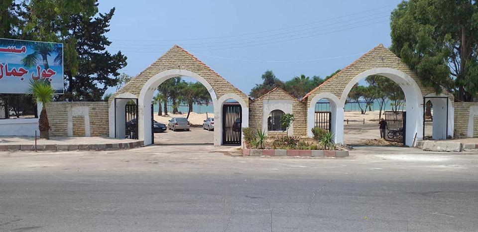 افتتاح مسبح جول جمال العائلي
