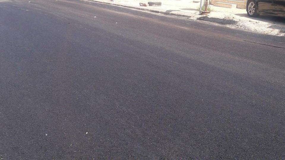الإنتهاء من أعمال تزفيت شارع الكويت