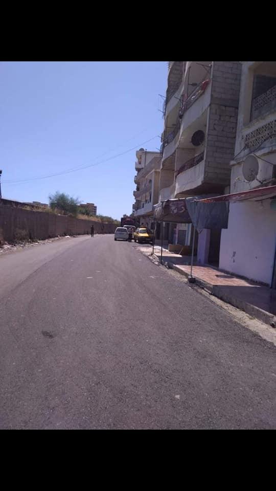 صيانة وإعادة تأهيل شوارع متفرقة في حي الحمام