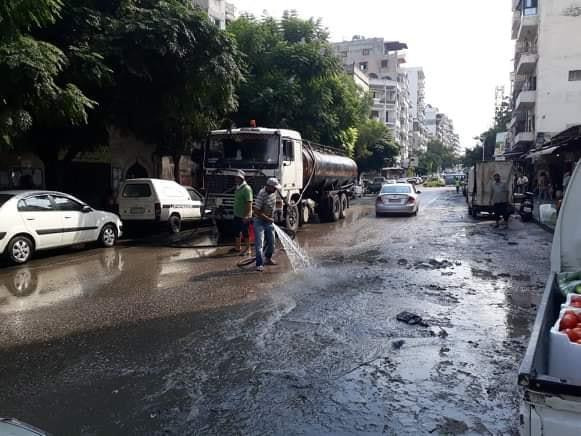 استمرار حملات النظافة في شوارع و أحياء المدينة